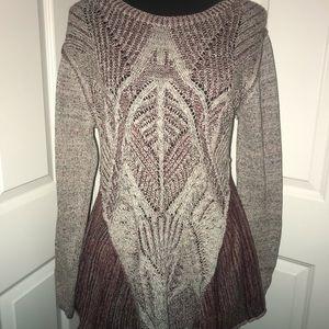 Altar'd State swing sweater medium EUC